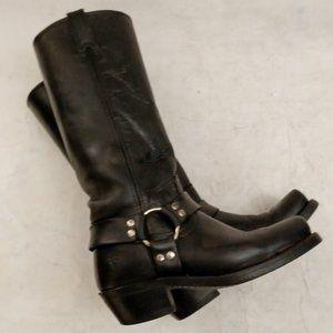🤠 FRYE Square Toe Western Boots Sz 7 M 🤠